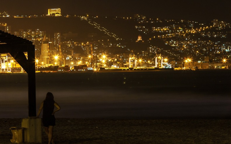 Haifa_Strand und kurze Produktionspause