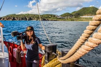 Dreharbeiten in St. Maarten