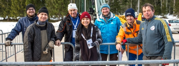 """Ruhpolding Backstage"":IBU World Cup Biathlon 2015"