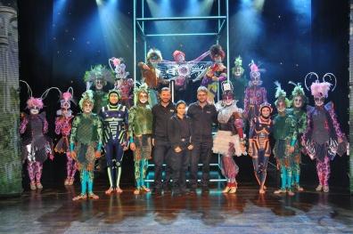 Show-Ensemble & TV-Team von AIDAstella 2016