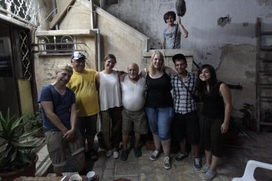Dreharbeiten in Israel/Palästina (2013)