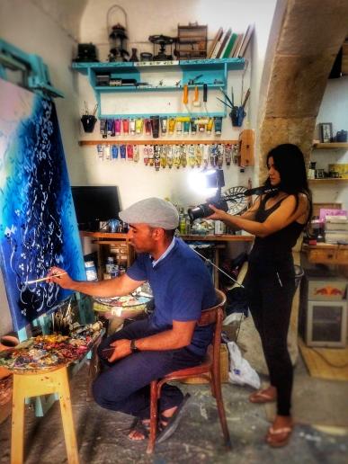 Oasis Kite: Dreharbeiten in Tunesien